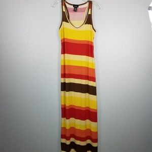 Chesley racer back maxi tank dress size XL